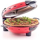 Apparecchio per pizza nuovo color rosso - Autentico forno italiano in pietra per pizza della gamma JM Posner
