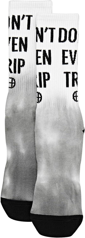 Blazing Yellow HUF Dont Trip Socks