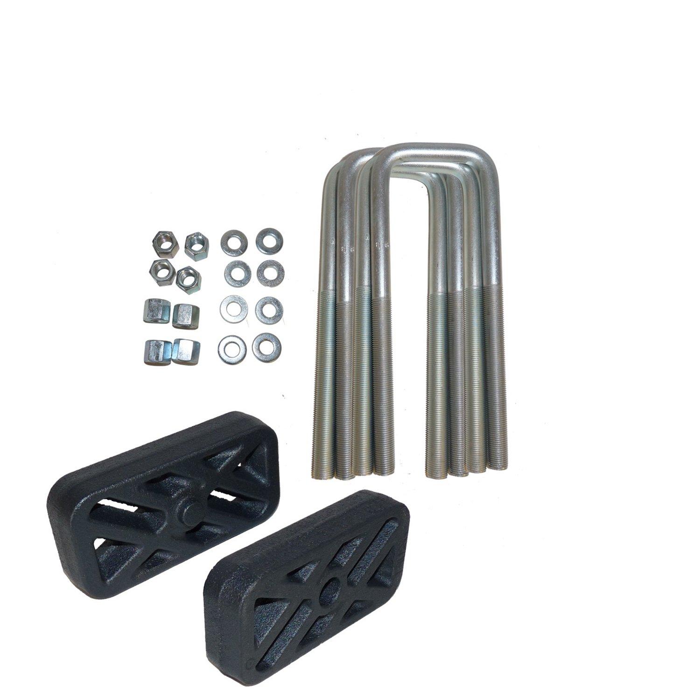 Traxda 404086 1 Rear Lowering Shackle for Chevy Silverado//Sierra 1500