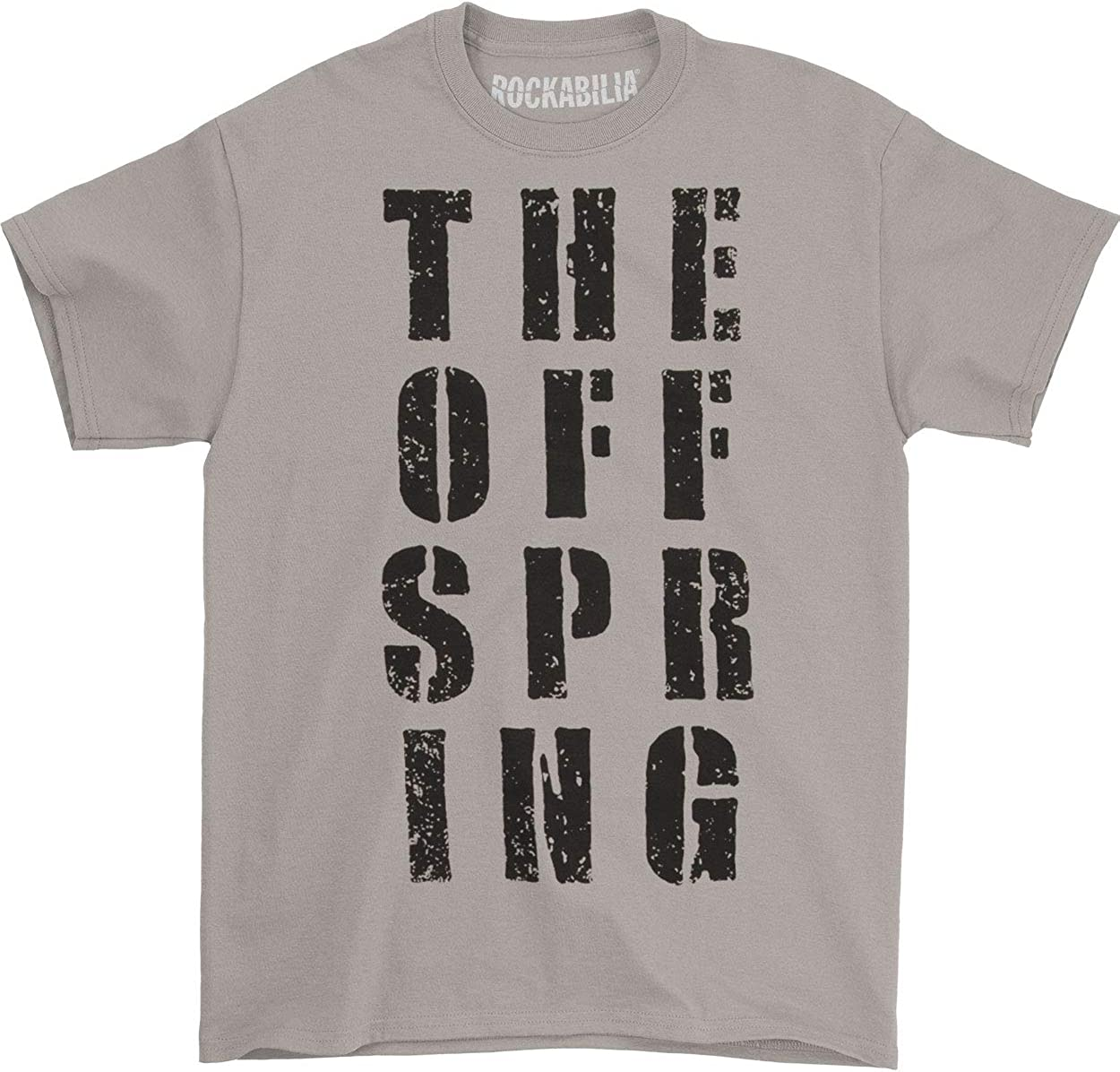 OFFSPRING BADGE SKULL BLACK T SHIRT NEW OFFICIAL BAND MERCH