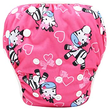 Storeofbaby/Baby/Reusable Swim Diaper/for Boys Adjustable Cover 0-3 Years