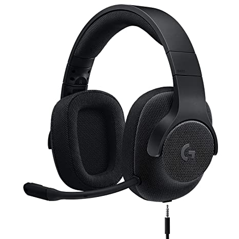 Logitech G433 7 1 Wired Gaming Headset with DTS Headphone: X 7 1 Surround  for PC, PS4, PS4 PRO, Xbox One, Xbox One S, Nintendo Switch – Triple Black