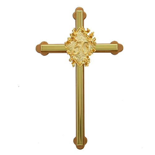 Golden Anniversary Cross – 50th Wedding Anniversary Gift