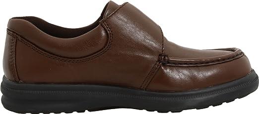 Hush Puppies Gil Hombre Castaño claro Piel Mocasines Zapatos EU 41: Amazon.es: Ropa y accesorios