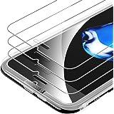 Syncwire [Lot de 3] Verre Tremp iPhone 8 Plus/7 Plus - Film Protection Ecran Vitre HD, Duret 9H [Incassable, sans Bulles, 3D-Touch, Facile Installer, Compatible avec Coque iPhone 8 Plus/7 Plus]