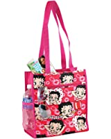 Betty Boop Reusable Tote Bag - Zippered Pockets & Waterproof Exterior