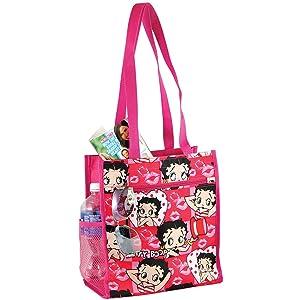 J Garden Betty Boop Tote Bag