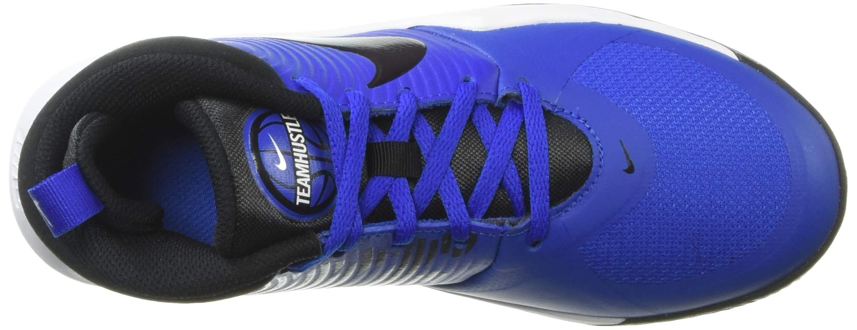 Nike Unisex Team Hustle D 9 (GS) Sneaker, Game Royal/Black - White, 5Y Regular US Big Kid by Nike (Image #10)