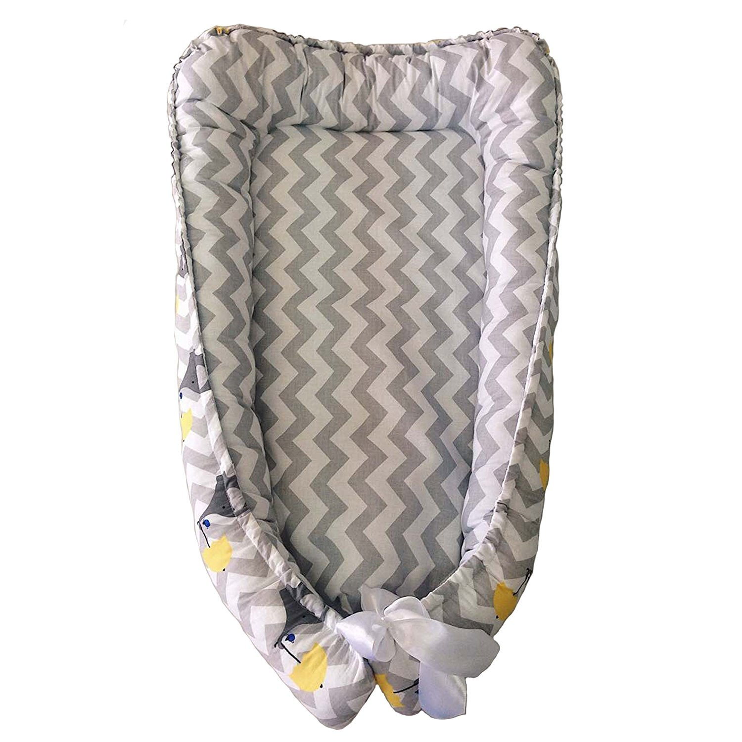Baby Nest, Gray Nest for Newborn, Sleep Bed, Cocoon-cradle, baby sleep nest melomashka