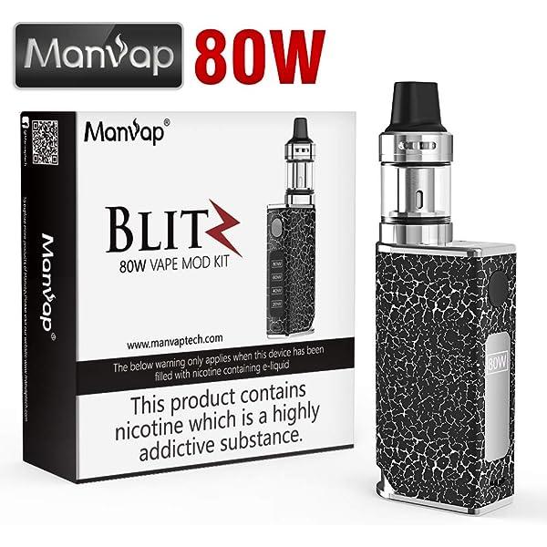 Vaper Cigarros Electronicos Manvap® Blit 80W E Cigarrillo Vape Mod ...