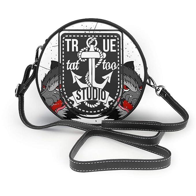 Wrution - Bolso de hombro con cremallera para mujer, diseño de ...