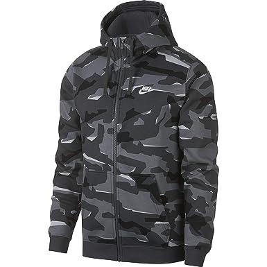 Nike M NSW Club Camo FZ BB Chaqueta 8d0fc4727f1