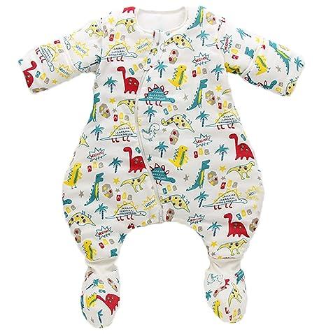 Saco de dormir para bebé con mangas 3.5 tog 100% algodón Saco de dormir para