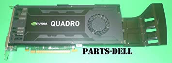 DELL NVIDIA QUADRO K4000 3GB GDDR5 2X DISPLAY PORT VIDEO CARD
