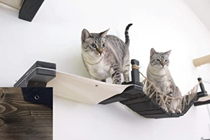 CatastrophiCreations The Cat Mod - Wall-Mounted Bridge Lounger for Cats