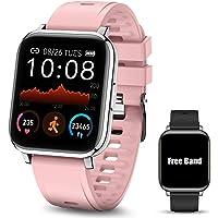 Smartwatch Pulsera Inteligente, MTQ Reloj Inteligente Deportivo, Reloj Deportivo Pantalla Táctil de 1.4 Pulgadas…