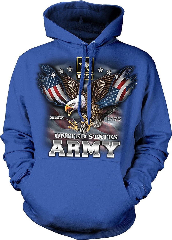American Eagle Flag Hooded SweatShirt Hoodie Sweater USA