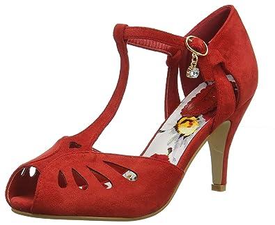 b87730442adb Joe Browns Womens Floral Lined Peep Toe High Heel Shoes  Amazon.co ...