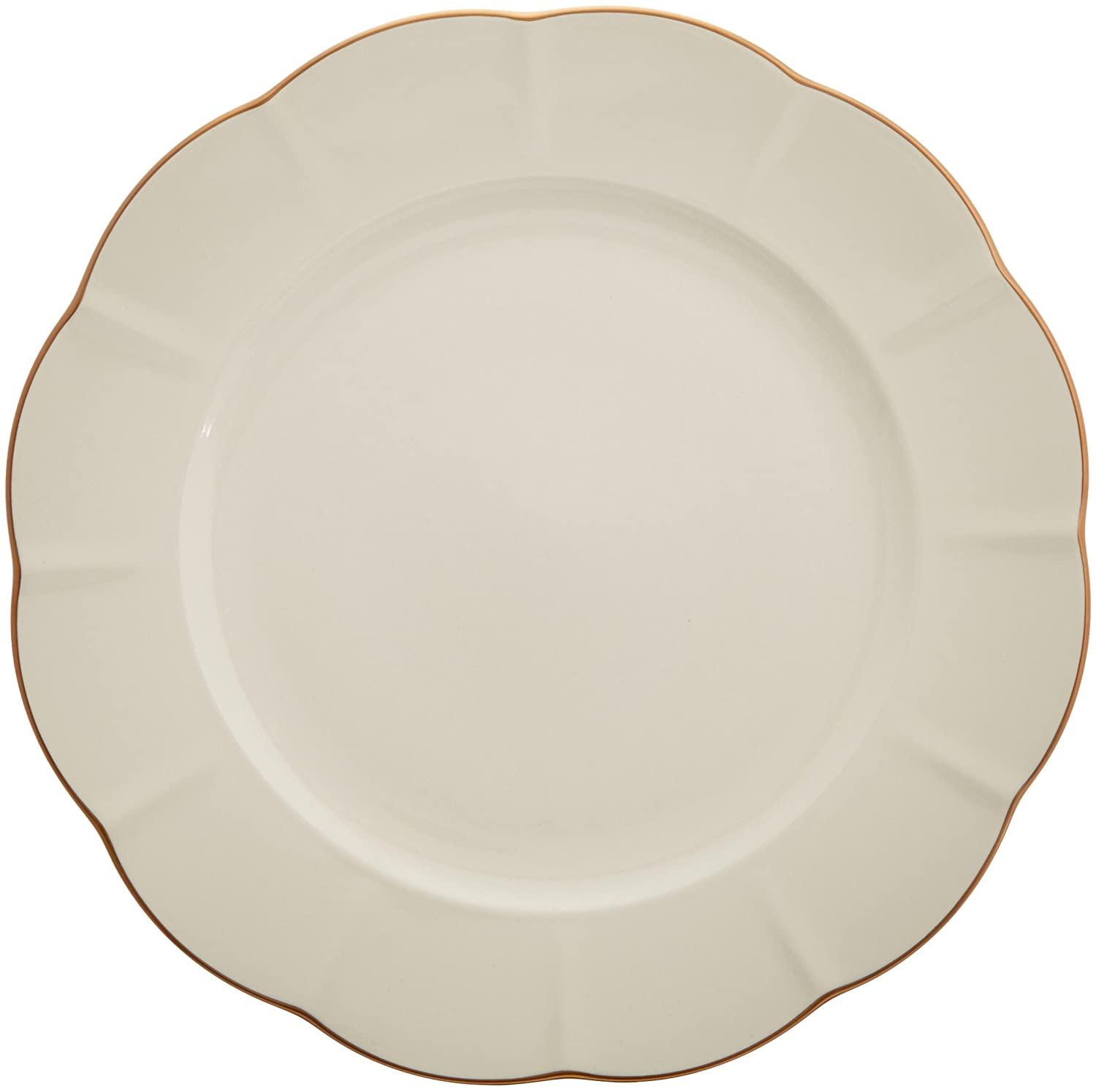 5a50de7360 Amazon.com: Marchesa Shades of White Dinner Plate by Lenox: Kitchen & Dining