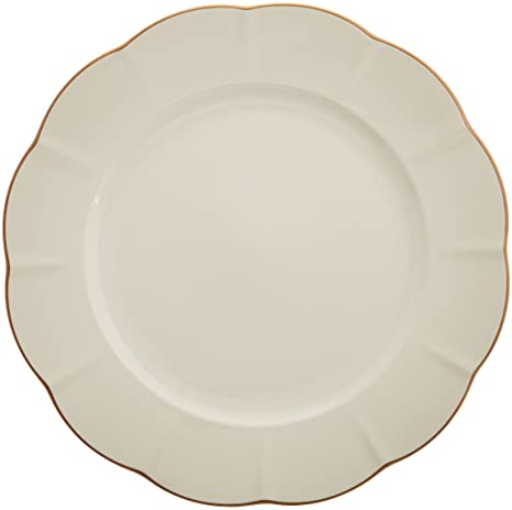 a801f120f5 Amazon.com: Marchesa Shades of White Dinner Plate by Lenox: Kitchen ...