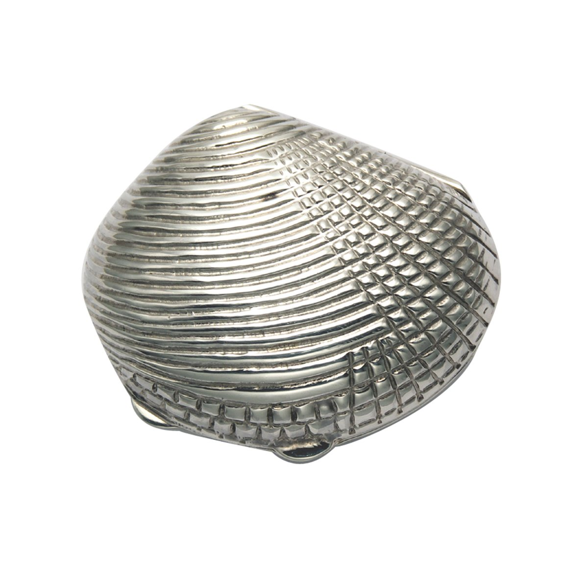 Sterling Silver Clam Shell Pill Box