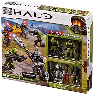 Halo Mega Bloks Set #97519 Anniversary Collection: Battleground: Toys & Games