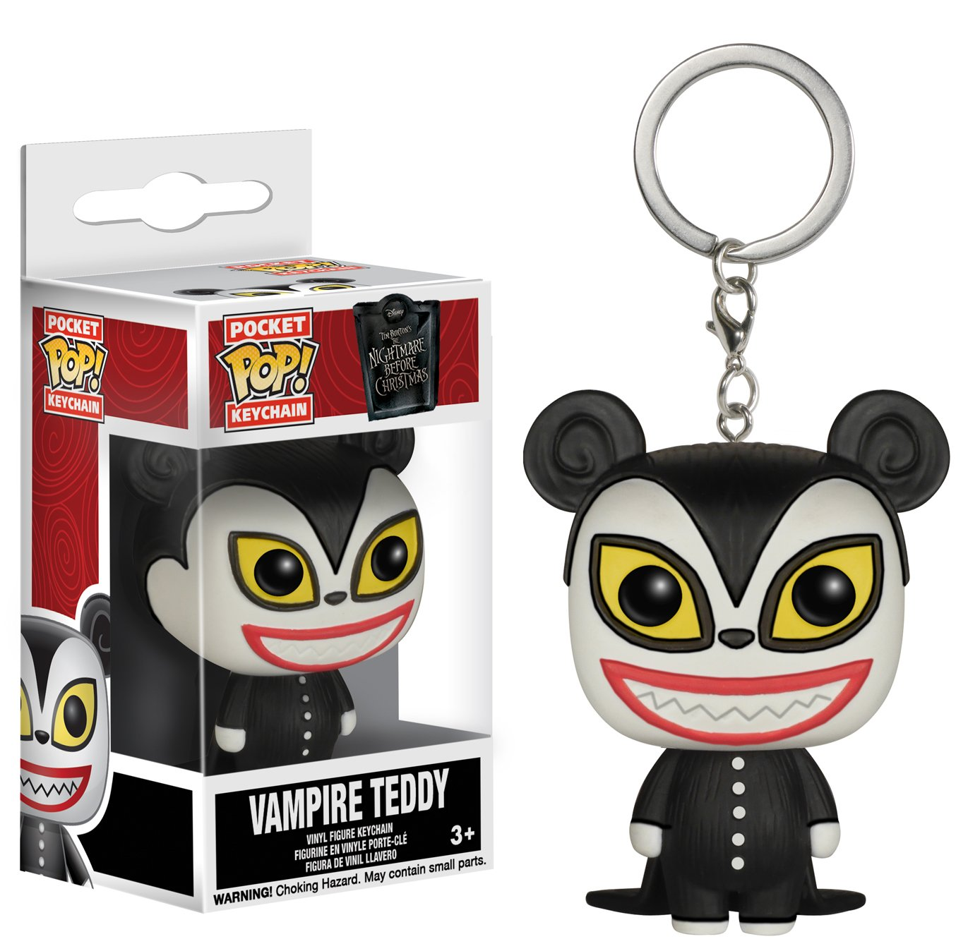 Funko Pocket POP Keychain: NBC - Vampire Teddy Keychain