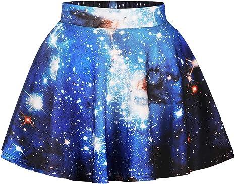 Ocean Plus Niña Colorida Falda Minifalda de Años 50 Vintage Falda ...