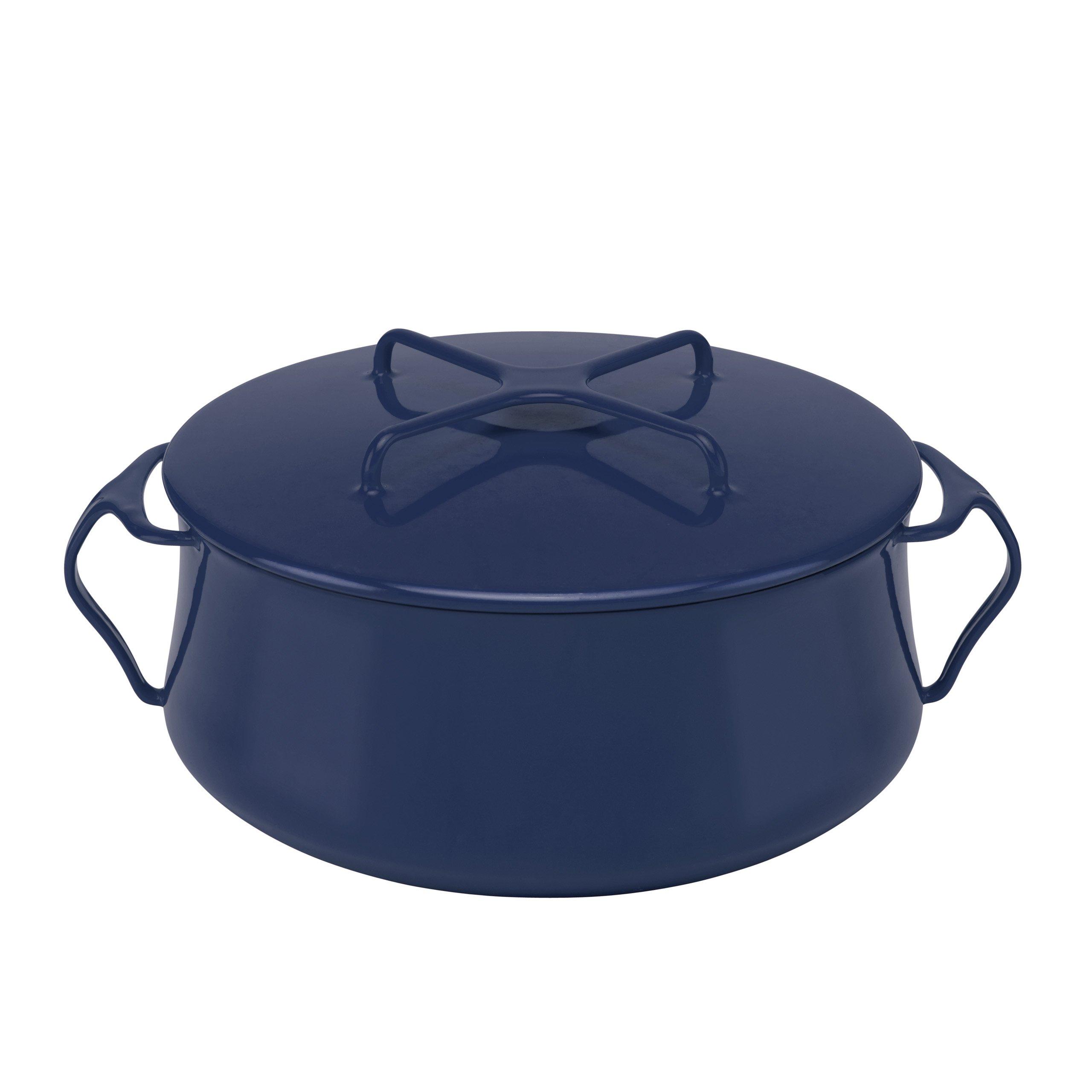 Dansk Kobenstyle Midnight Blue Casserole, 6-Quart