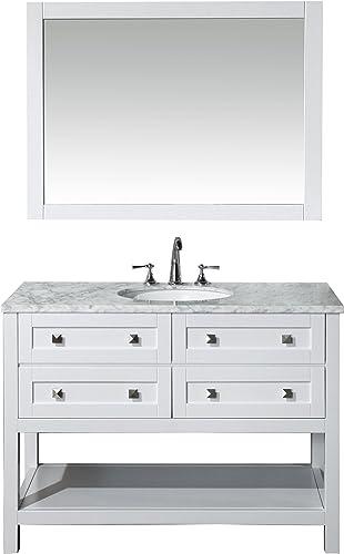 Stufurhome HD-6868-48-CR Marla Single Sink Bathroom Vanity Set