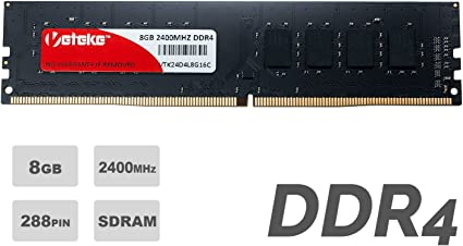 Veteke Performance RAM 16GB DDR4 2400MHZ PC4-19200 CL17 260-PIN SODIMM Laptop