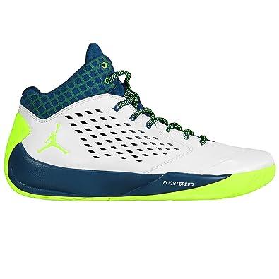 99dec2f43a Jordan - RISING HIGH FLIGHT SPEED - Performance Basketball - Mid Top Sneaker  - White: Amazon.co.uk: Shoes & Bags