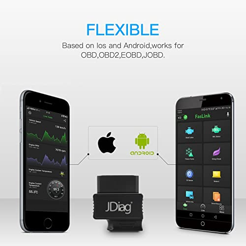 Faslink M2 Professional Bluetooth OBD2 Scanner for iPhone & Android