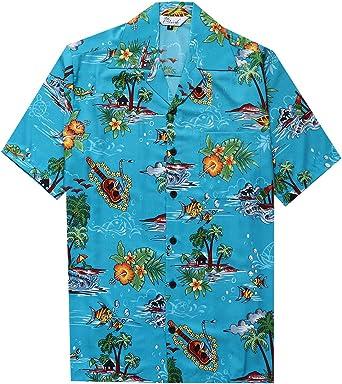 Alvish - Camisas hawaianas para hombre: Amazon.es: Ropa y accesorios