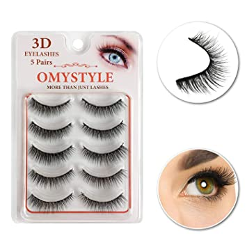 c337982f0c0 3D Fake Eyelashes Natural Look Lashes Strip With Volume Handmade For Women  Make up Soft False