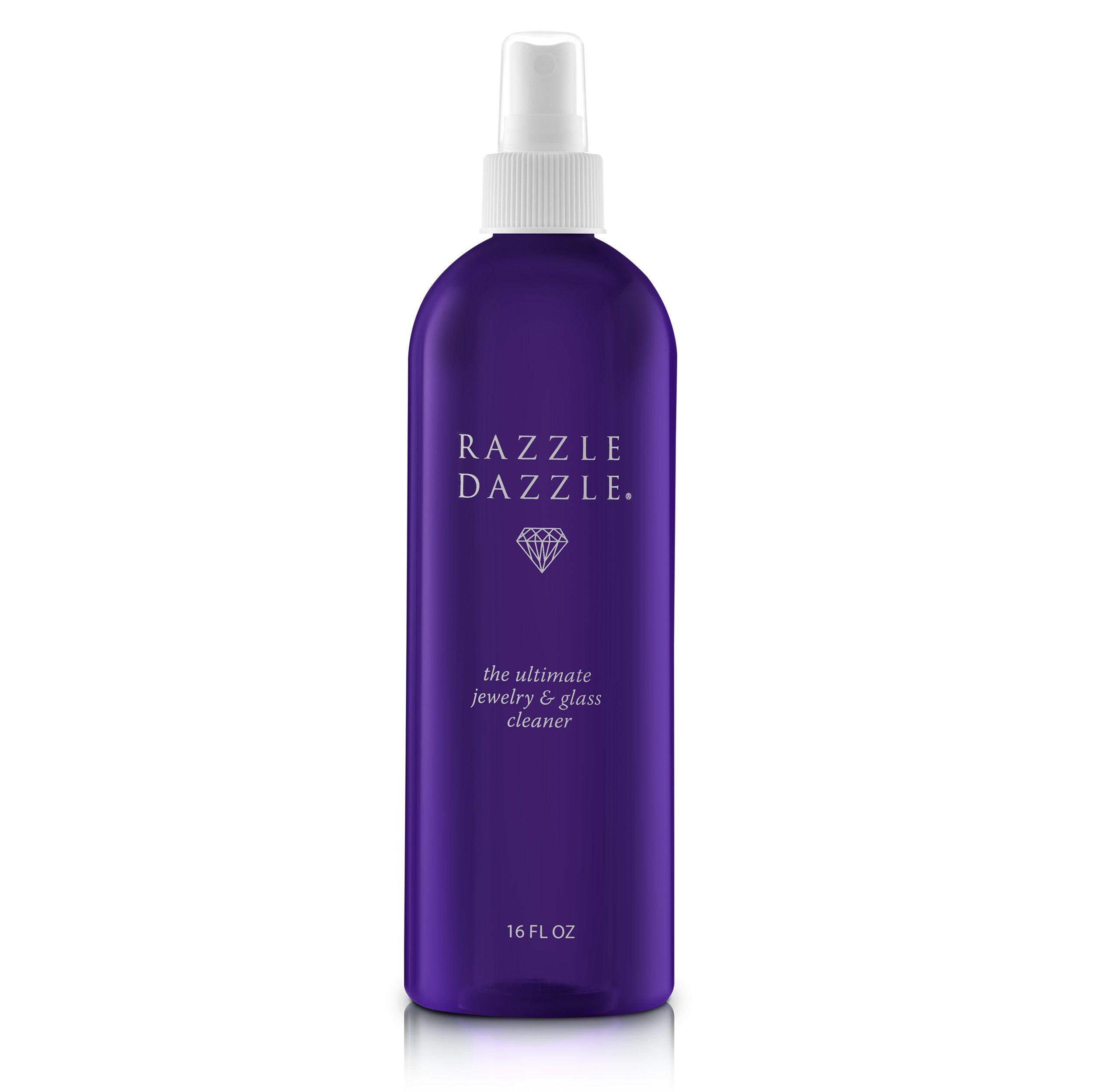 Razzle Dazzle Jewelry, Watch & Glass Cleaner Spray Bottle, 16 oz. by Razzle Dazzle (Image #1)