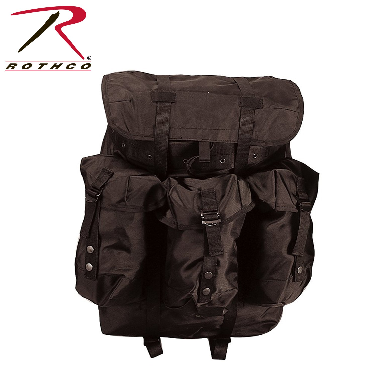 Rothco Plus Large Alice Pack with Frame, Black