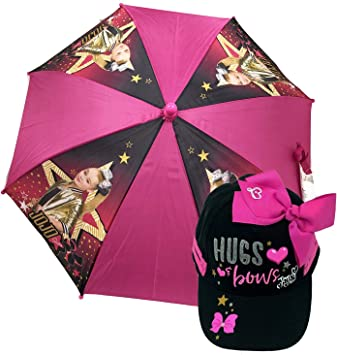 umbrella One-Size w//Baseball Cap Little Girl/'s JoJo Siwa Collection Accessory
