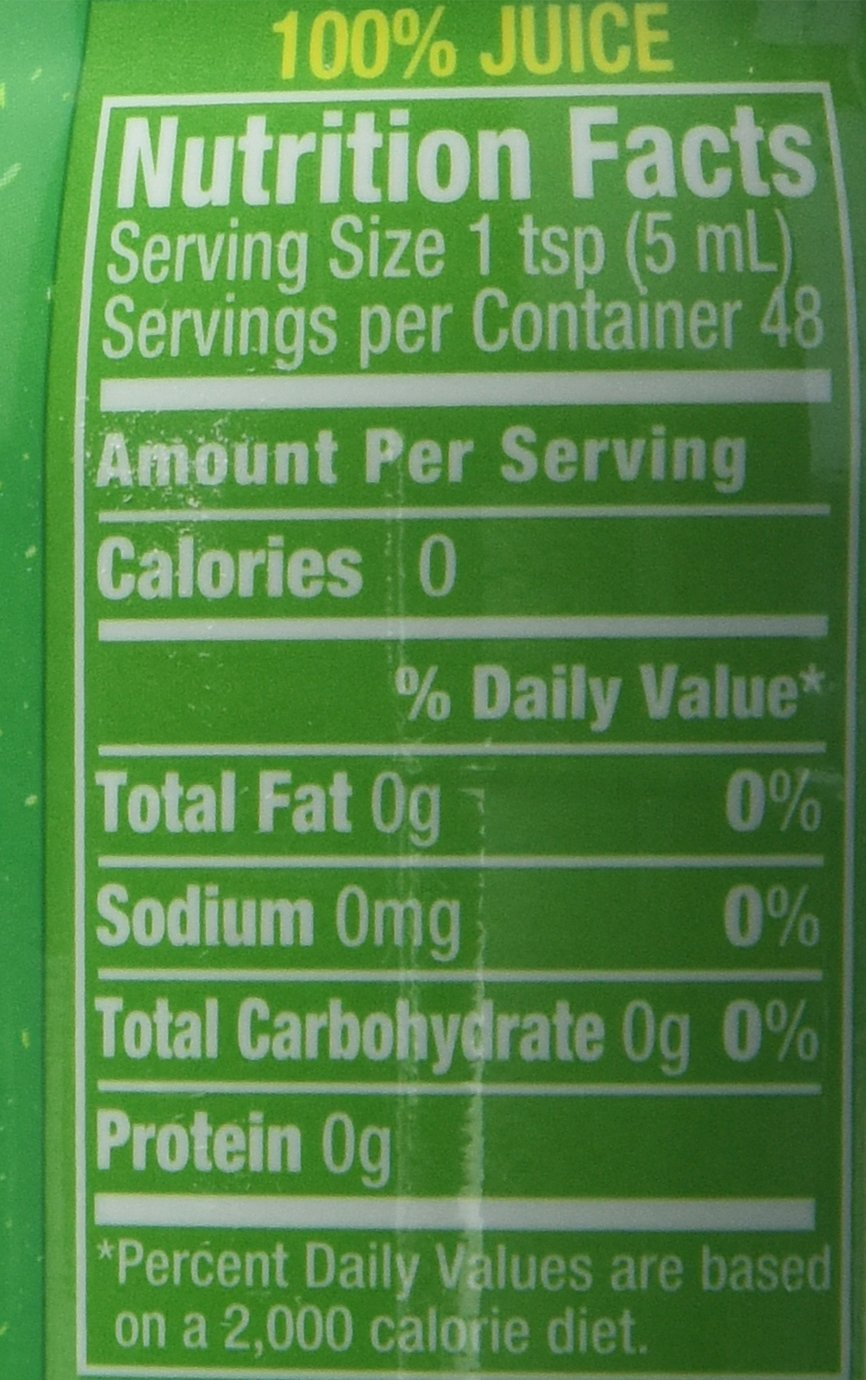 ReaLime 100% Lime Juice, 8 fl oz bottles (Pack of 12) by Realime (Image #3)