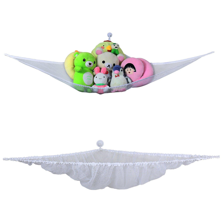 leefe - Organizador de juguetes de baño en forma de hamaca, almacenamiento Juguete con 5 ventosas ganchos ultra-résistants - Bolsa de almacenamiento de ...