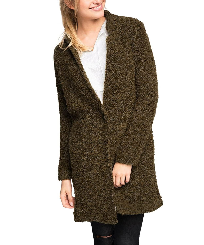ESPRIT Damen Jacke aus Bouclé