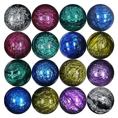 Entervending Bouncy Balls - 45mm Bowling Bouncy Balls Bulk - Party Favors and Gumball Machine, 25pcs: Toys & Games