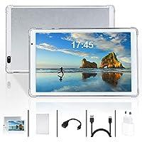 Tablet 10.1 Pollici Android 10.0,Quad-Core,4GB + 64GB,1280 * 800 FullHD IPS, 5MP+8MP Doppia Fotocamera,GPS, WiFi…
