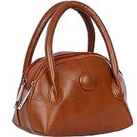 Belladona Women's Hand Held Bag (Poh_8, Tan)