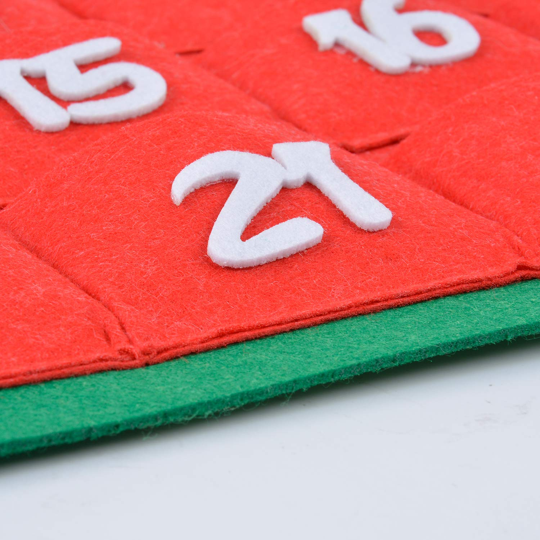 Outgeek Arts Crafts Girls, Teens, Kids,18 Pcs DIY Project Ideas, Creative Set Crafting Set Birthday Craft Gifts Advent Calendar Advent Calendar with Pockets