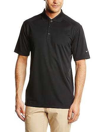 NIKE Mens Dri-Fit Victory Golf Polo Shirt-Black-Small: Amazon.es ...