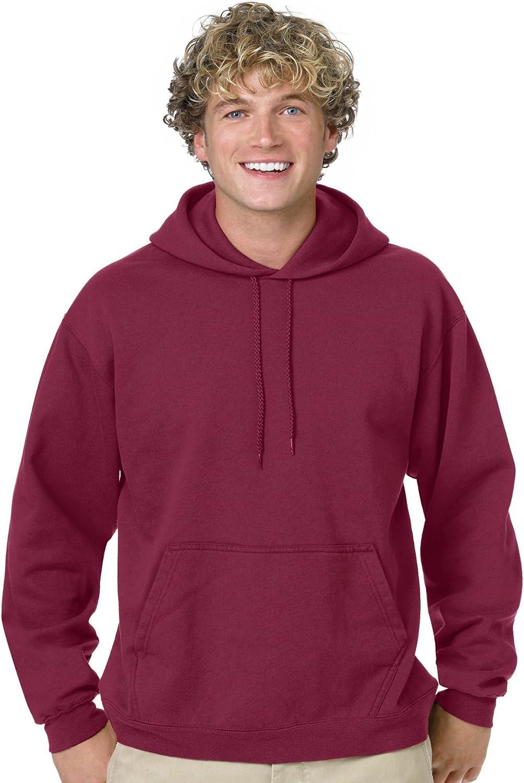 Cardinal ComfortBlend 50//50 Pullover Hood L Hanes 7.8 oz