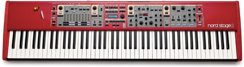 Clavia DMI AB Nord Stage 2 HA88 - Teclado MIDI (USB, 128,7 cm, 33,4 cm, 11,8 cm)
