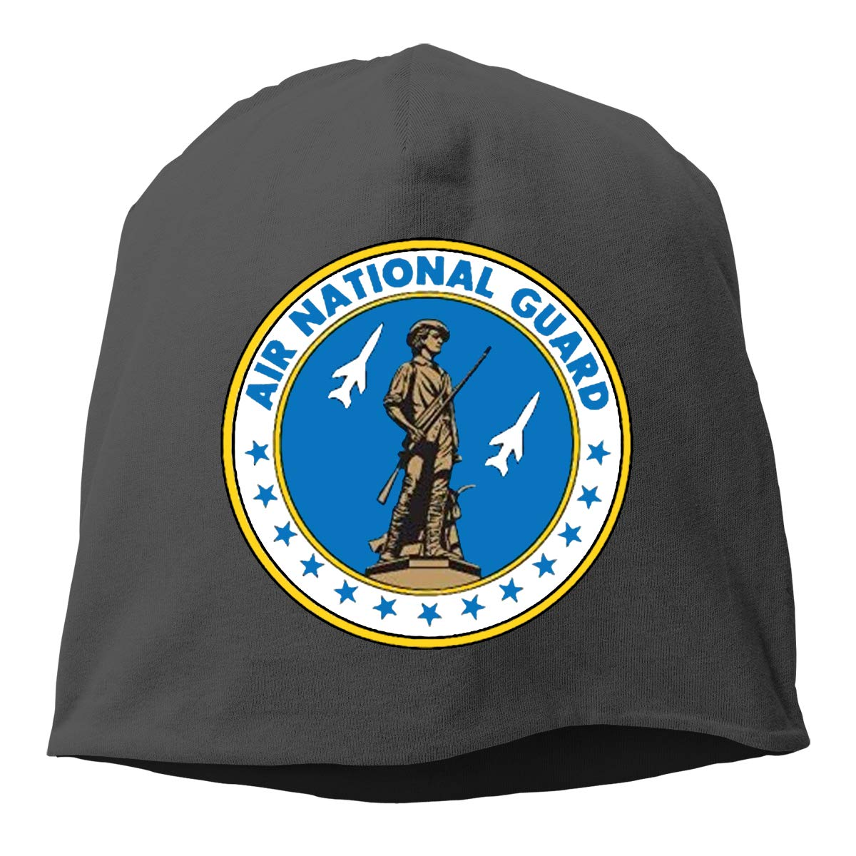 The Air National Guard Hedging Hat Unisex Skull Hat Knitted Hat Beanie Cap for Autumn//Winter Cap