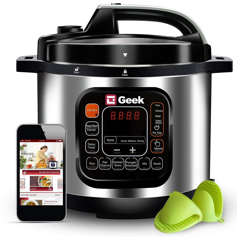 5. Geek Robocook Automatic 5 Litre Electric Pressure Cooker